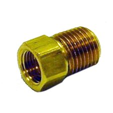 "1/4"" Male Pipe Thread x 1/4"" Inverted Female Flare"