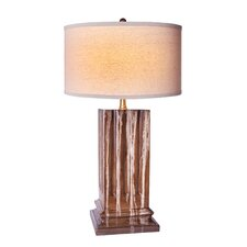 """Alexander 28"""" H Versailles Table Lamp with Drum Shade"""