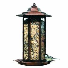 Tall Tulip Garden Lantern Decorative Bird Feeder