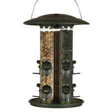 Safari Triple Tube Bird Feeder