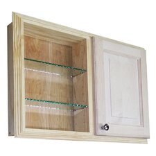"<strong>WG Wood Products</strong> Baldwin 29.5"" x 19.5"" Recessed Medicine Cabinet"