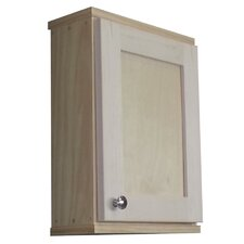 "Shaker Series 15.25"" x 19.5"" Surface Mount Medicine Cabinet"
