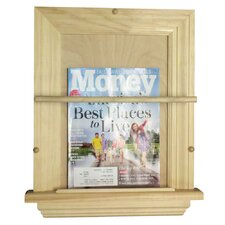 <strong>WG Wood Products</strong> On the Wall Magazine Rack
