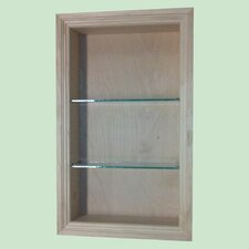 "<strong>WG Wood Products</strong> Newberry 15.5"" x 25.5"" Bathroom Shelf"