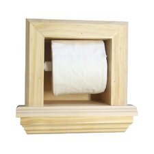 Bevel Frame Toilet Paper Holder with Ledge