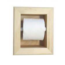 <strong>WG Wood Products</strong> In the Wall Mega Toilet Paper Holder
