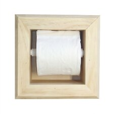 <strong>WG Wood Products</strong> Bevel Frame Toilet Paper Holder