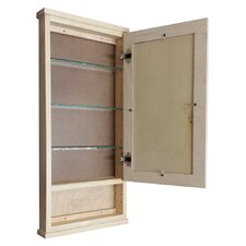 "<strong>WG Wood Products</strong> Shaker Series 15.25"" x 31.5"" Surface Mount Medicine Cabinet"