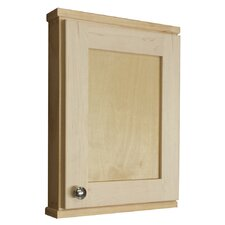 "<strong>WG Wood Products</strong> Shaker Series 15.25"" x 19.5"" Surface Mount Medicine Cabinet"