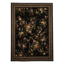 Teppich Sari Sagrini in Schwarz/Gold