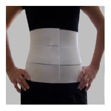 Three Panel-Elastic Abdominal Binder and Waist Trimmer
