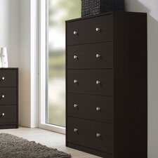 <strong>Tvilum</strong> Portland Bedroom 5 Drawer Chest