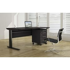 Pierce Executive Desk Top with Metal Legs