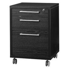 Pierce 3 Drawer Mobile Filing Cabinet