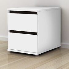 Aurora 2 Drawer Nightstand