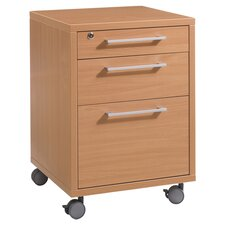 Pierce 3 Drawer Mobile Filing Cabinet