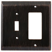 Stately Single Switch/Decorator Wall Plate
