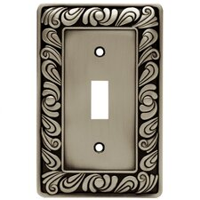 Paisley Single Switch Wall Plate