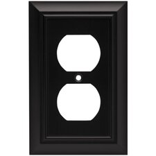 Architectural Single Duplex Wall Plate