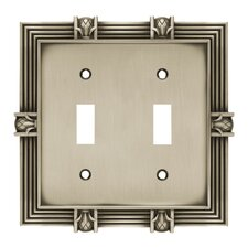<strong>Brainerd</strong> Pineapple Double Switch Wall Plate