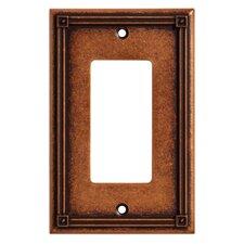 Ruston Single Decorator Wall Plate