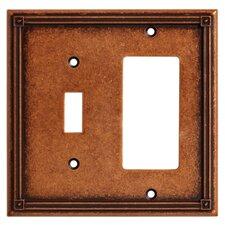Ruston Single Switch/Decorator Wall Plate