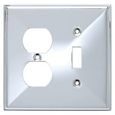<strong>Brainerd</strong> Beverly Single Switch/Duplex Wall Plate
