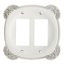 Arboresque Double Decorator Wall Plate