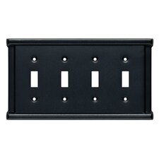 Landen Quad Switch Wall Plate