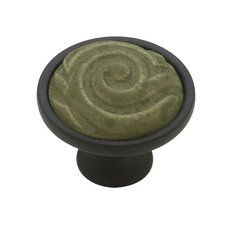 "Decorative Totem 1.38"" Round Knob"