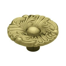 "Decorative Provincial 1.5"" Round Knob"