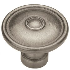 "<strong>Liberty Hardware</strong> Rustique Ringed 1.5"" Round Knob"