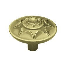 "<strong>Liberty Hardware</strong> Starburst Decorative 1.38"" Round Knob"