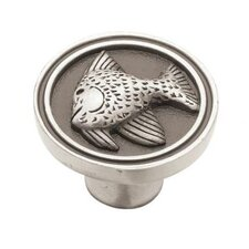 "Seaside Cottage 1.45"" Round Knob"
