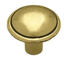"<strong>Liberty Hardware</strong> Decorative Domed Top 0.97"" Round Knob"