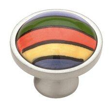 "Decorative 1.38"" Round Knob"