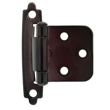 "Decorative Self-Closing Overlay 2.76"" Hinge (Set of 2)"