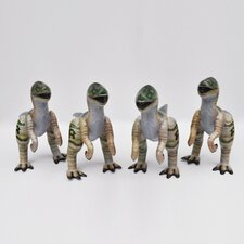 Inflatable Velociraptor Jr. (Set of 4)