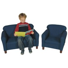 <strong>Childs Play</strong> Chair and Sofa Set