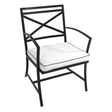 <strong>Meadowcraft</strong> Maddux Dining Arm Chair with Cushion