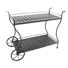 <strong>Meadowcraft</strong> Tea Serving Cart