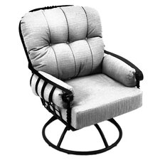 Athens Swivel Rocking Chair with Cushion