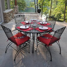 <strong>Meadowcraft</strong> Dogwood 5 Piece Dining Set