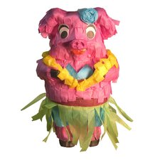 Polly Wanna Pinatas Hula Piggy Bird Toy