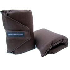 Brown Twill Handle Grip Padding (Set of 2)