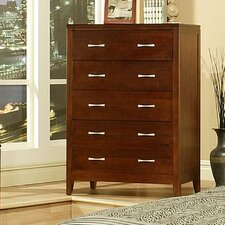 Solitude 5 Drawer Jewelry Armoire