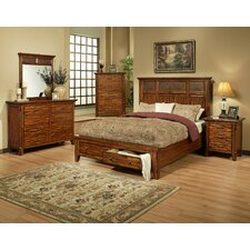 <strong>AYCA Furniture</strong> Marissa County Storage Panel Bedroom Collection