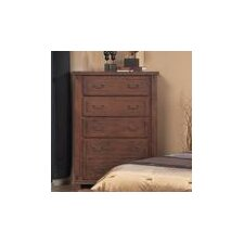 Fergus County 5 Drawer Chest