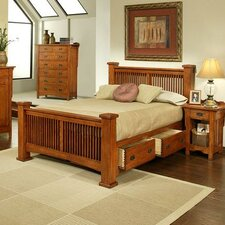 Heartland Manor Slat Bed