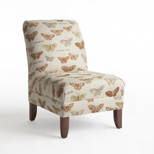 Paula Fabric Slipper Chair